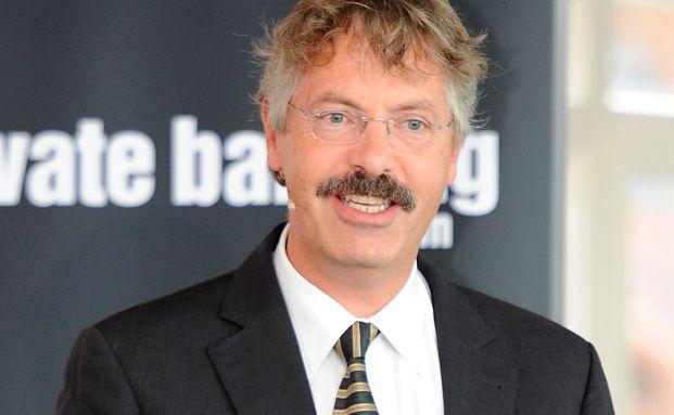 Philipp Vorndran, Flossbach von Storch, auf dem Forum f&uuml;r <br>Family Offices und Private Banking in Hamburg