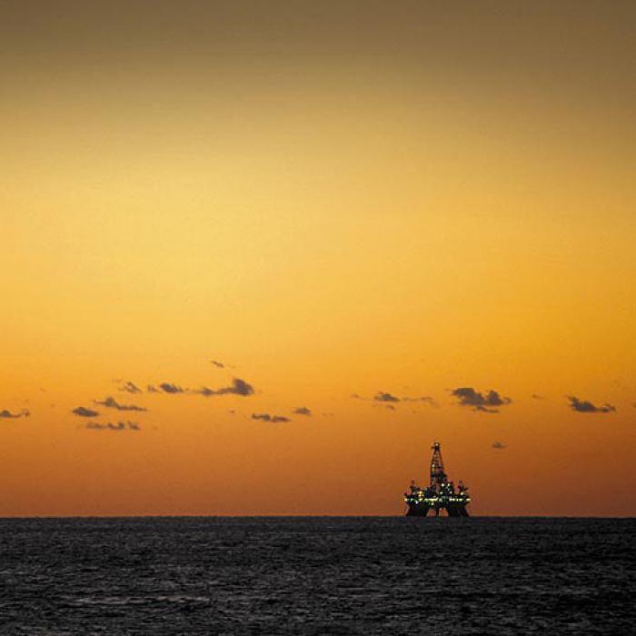 Alles andere als romantisch:<br>Die &Ouml;lf&ouml;rderung auf hoher See<br>Foto: BP