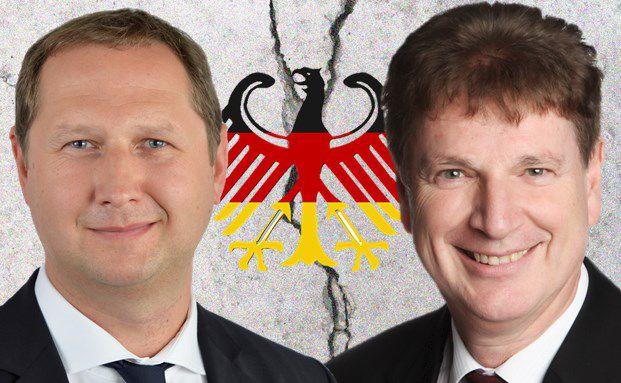 Uwe Pyde, Manager des Bantleon Yield, und Jürgen Jann, Manager des Walser Vermögensverwaltung Strategie Plus