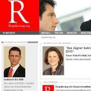 Screenshot von regulierung.org