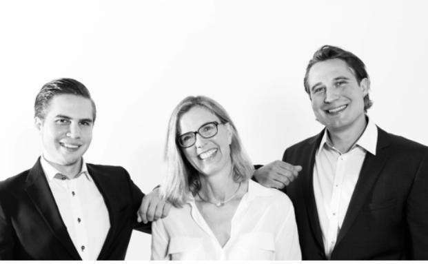Das Team von Renditefokus: Florian Stark, Sabine Rückert und Korbinian Stark