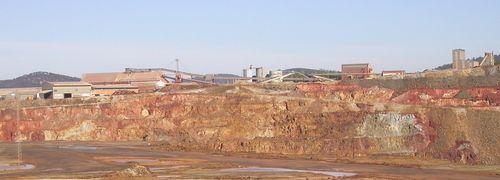 Eine Rio Tinto-Mine