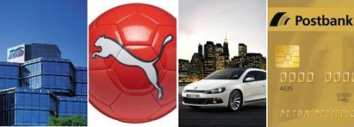 AWD-Zentrale, Puma-Ball, VW Scirocco, Postbank