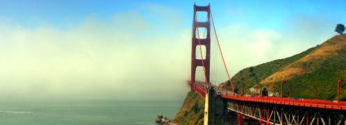 Golden Gate Bridge in San Francisco; <br> Quelle: Fotolia