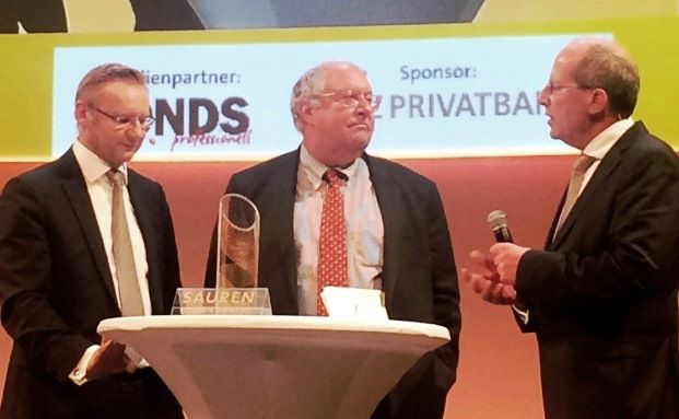 Erhielt den Sauren Golden Award in der Kategorie Aktien USA: Bill Miller, Legg Mason Global Asset Management