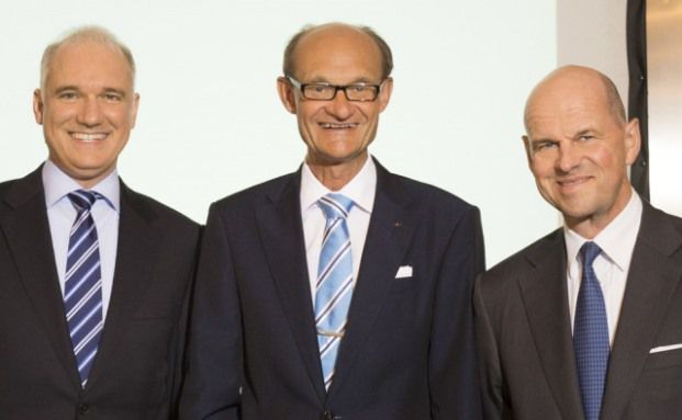 Der neue Aufsichtsrat des Vermögensverwalters Spiekermann & Co.: Jörg Fleischer (links), Michael Koch und Thomas Eichelmann, Quelle: Spiekermann & Co. AG