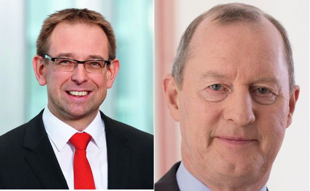 Claus Walter ( links), Geschäftsführender Gesellschafter der Freiburger Vermögensmanagement und Rainer Beckmann (rechts), Geschäftsführer der ficon Financial Consultants.
