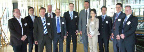 Teilnehmer und Organisatoren des <br> Sustainability-Congress 2010; <br> Quelle: Drescher