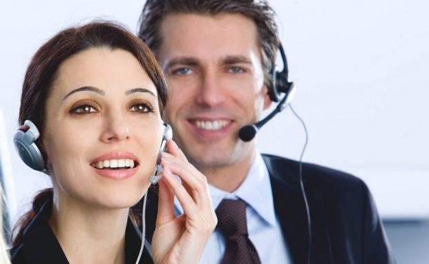 Die Makler werden f&uuml;r die Branchen-Studie computergest&uuml;tzt <br>am Telefon befragt. Quelle: Fotolia