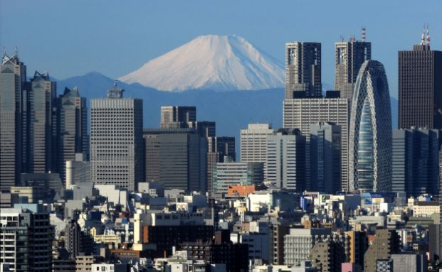 Die Skyline von Tokyo. Der beliebteste ETF in diesem Jahr kam aus dem Hause Amundi. Der Japanische Markt ist das Investitionsfeld des Fonds. Foto: Getty Images