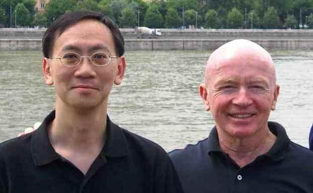 Mark Mobius (re.) mit seinem Kollegen Tom Wu