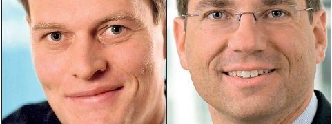 Jens Kleine (links), Matthias Kinttof