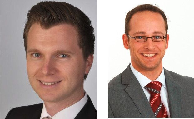 Zwei Geldverwalter sind unterschiedlicher Meinung in sachen Offene Immobilienfonds: Thilo Stadler, I.C.M. Vermögensberatung Mannheim GmbH (l.) und Stefan Wörsdörfer, Böker & Paul AG, Montabaur