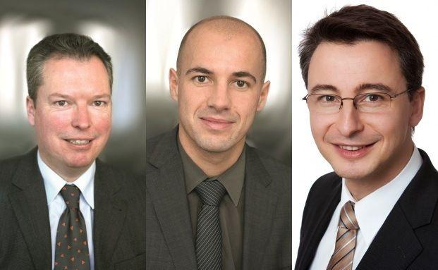 Avana Fondsmanager: Michael Vieker, Wolfgang H&ouml;&szlig;l und <br> Christian Cramer (von links nach rechts)