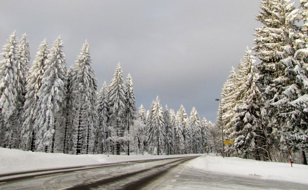 Schneepracht auf deutschen Straßen: Von diesem Bild war die Bundesrepublik im Dezember 2012 weit entfernt. Der britische Hedgefonds Cumulus profitierte von dem miesen Weihnachtswetter. Foto: Rainer Sturm/Pixelio