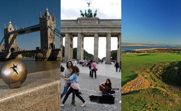 London, Berlin, Isle of Man. Quelle: Getty Images
