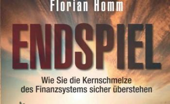 """Buchcover """"Endspiel"""" von Florian Homm"""