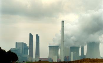 RWE-Kraftwerk Neurath<br>Quelle: WWF, Douglas Robertson