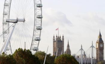 """Vorbild Riesenrad """"London Eye"""": Mit dem Global View <br> sollten in Berlin & Co. auch Riesenräder entstehen, Quelle: <br> Getty Images"""