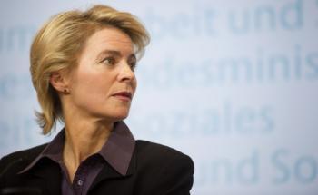 Bundesarbeitsministerin Ursula von der Leyen.<br>Bild: Getty images