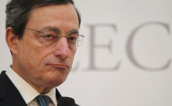 EZB-Präsident Mario Draghi: Die Niedrigzinspolitik<br>der Europäischen Zentralbank hat Auswirkungen auf die<br>Versicherungsbranche. Foto: Getty Images