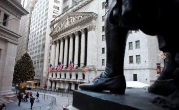 Wall Street: US-Marktdaten überzeugten zuletzt, daher <br> nehmen Vermögensverwalter ihre Gewinne aus US-Titeln mit <br> Quelle: Getty Images