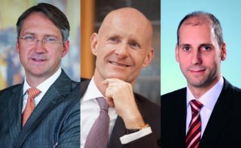 Führen weiter die Absatzlisten an: Bert Flossbach, Luca Pesarini und Stefan Kloss (von links)
