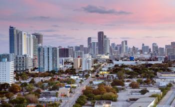 Animation des Einzelhandelskomplexes in Miami/Florida. Bild: images©beyer.co.at