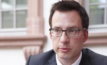 Andreas Zöllinger, Co-Portfoliomanager des BGF European Equity Income Fund bei BlackRock. Foto: Tom Hönig.