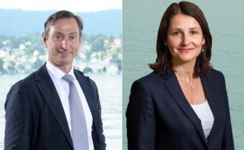 Lucio Soso (links) und Alexandrine Jaecklin (rechts), Portfolio Manager des BB Global Macro Fonds (Bild: Bellevue)