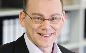 Klaus Euler ist Vorstandsvorsitzender der Ethikbank aus dem thüringischen Eisenberg.