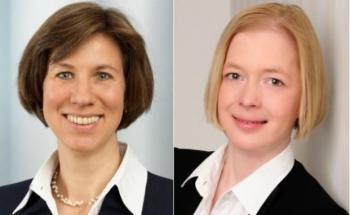 Dr. Claudia Klümpen-Neusel (links) und Juliette Gill von der Wirtschaftsprüfungsgesellschaft Warth & Klein Grant Thornton
