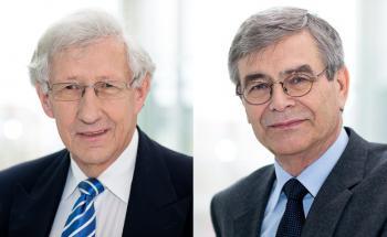 Die beiden in den Ruhestand versetzten Richter Dr. h.c. Gerd Nobbe (l.) und Wolfgang Arenhövel leiten die vom deutschen Fondsverband BVI ins Leben gerufene Ombudsstelle für Investmentfonds.