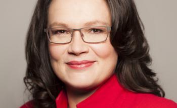 Andrea Nahles (SPD) führt das Bundesministerium für Arbeit und Soziales (BMAS). Foto:BMAS/Knoll