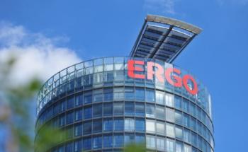 Das Ergo-Hauptverwaltungsgebäude in Düsseldorf. Foto: Ergo-Versicherung