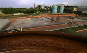 Die Aluminium-Raffinierie Alunorte im brasilianischen <br> Barcarena gehört zum Bergaukonzern Vale. Über die Aktie <br> haben die Schwellenländer-Fondsmanager unterschiedliche <br> Meinungen, Foto: Getty Images
