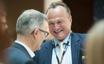 Dr. Karl Pilny, Autor, Asien-Experte und Top-Speaker auf dem private banking kongress München 2015. Fotos: Christian Scholtysik / Patrick Hipp