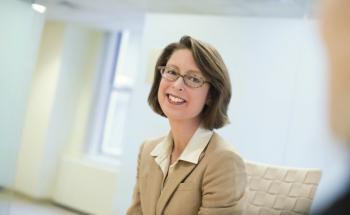 Abigail Johnson: Die 52-Jährige ist Chefin von Fidelity Investments. 1946 gründete ihr Großvater den heute zweitgrößten Fondsverwalter der Welt. Foto: Fidelity