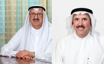 Leiten die beste Bank in Nahost: Vorstandschef Mohammed Abdulrahman Al - Bahar und Vize Nasser Musaed Abdulla Al - Sayer von der National Bank of Kuwait