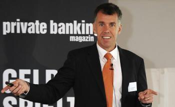 Goldexperte Joachim Berlenberg. Hier auf dem Forum <br> Family Office & Private Banking in Hamburg