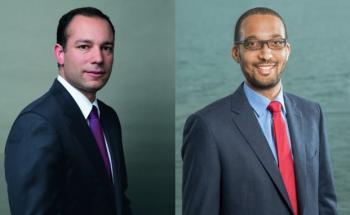 Malek Bou-Diab (links), Lead Portfolio Manager und Andy Gboka, Portfolio Manager bei Bellevue Asset Management