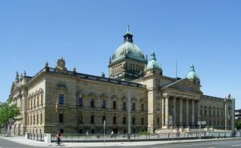 Das Bundesverwaltungsgericht in Leipzig. <br>Quelle: Wikipedia/Manecke