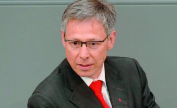 Carsten Sieling, stellvertretender finanzpolitischer Sprecher der SPD