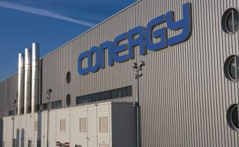Conergy-Produktionsstätte in Frankfurt (Oder)