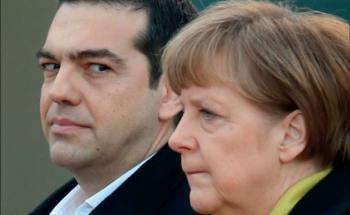 Bundeskalzlerin Angela Merkel und der griechische Premierminister Alexis Tsipras: Griechenlangkrise und Euro-Rettung haben die Renditen von deutschen Staatsanleihen auf Tiefstwerte gedrückt. Das trifft auch die Versicherer hierzulande. Foto: Getty Images