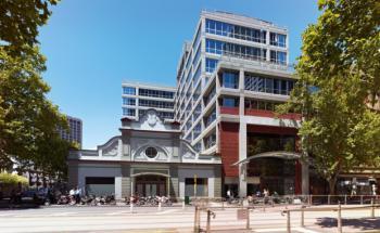"""Im Fondsobjekt """"Defence Plaza"""" sitzt das australische <br> Verteidiungsministerium"""