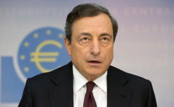Mario Draghi ist Präsident der Europäischen Zentralbank und Schuld an der Zinsmisere an den Märkten. Foto: Bloomberg