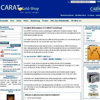 Der Carat Gold-Shop