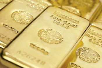 Goldbarren, Foto: Heraeus