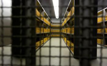Blick auf den Goldschatz der Bundesbank (Foto: Deutsche Bundesbank)
